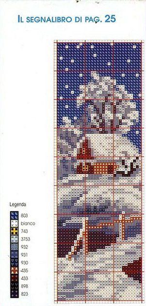Christmas Bookmark Chart