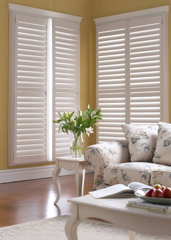 1000 Images About Window Shutters On Pinterest Hunter Douglas Plantation Shutter And Vinyl