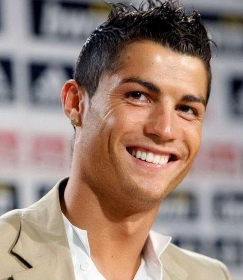 Cristiano Ronaldo Hairstyles 2017