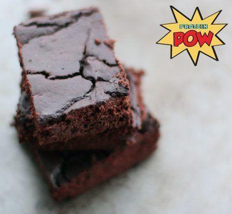 Organic Whey Protein Brownies (Gluten-Free) - http://proteinpow.com/2014/12/organic-whey-protein-brownies.html