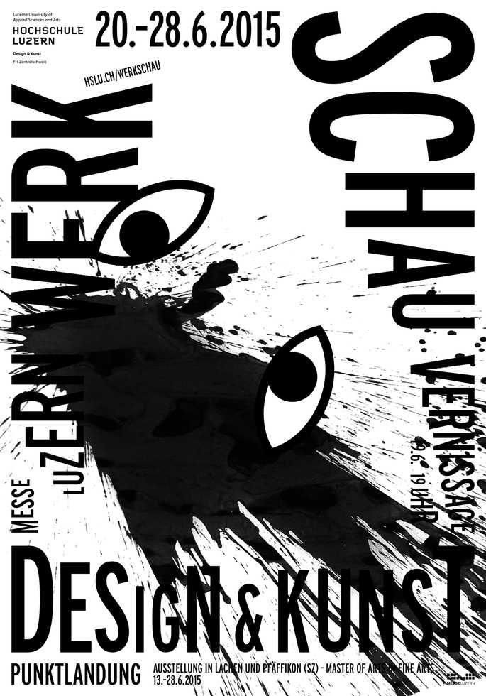 Werkschau – Hochschule Luzern – Design & Kunst | 100 Beste Plakate e. V.