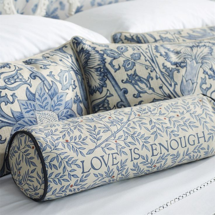 'Love Is Enough' uses a typeface designed by William Morris himself