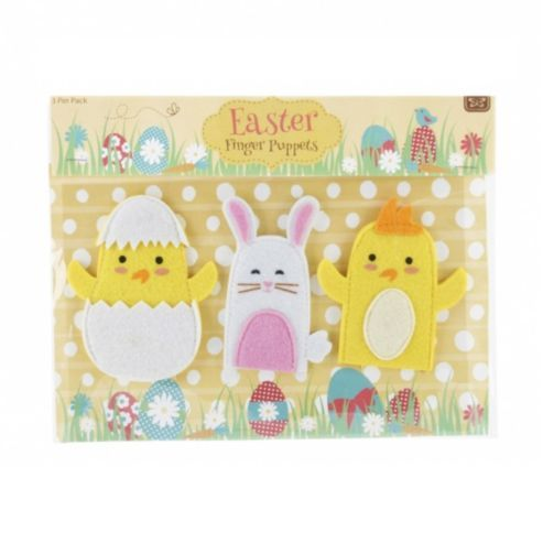 54 best easter images on pinterest toddlers buntings and cakes easter finger puppets negle Gallery