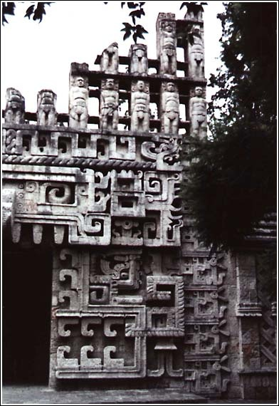 Aztec architecture, Mexico
