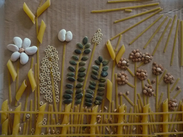 "In the spirit of the fair's crop art competition, give your guests a variety of seeds, pasta and some glue and see what ""sprouts!"""