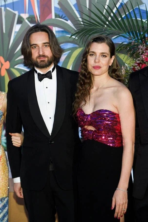1364ec6ab Rose Ball 2019 To Benefit The Princess Grace Foundation In Monaco Dimitri  Rassam and Charlotte Casiraghi