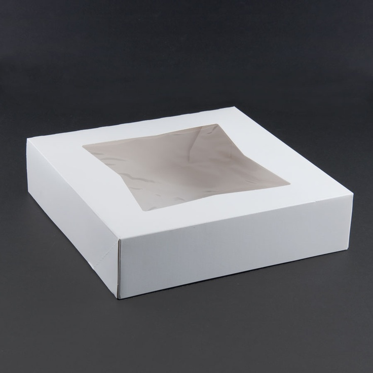 Window Cake / Bakery Box 10 inch x 10 inch x 2 inch & 147 best cardboard cake boxes images on Pinterest | Cake boxes ... Aboutintivar.Com