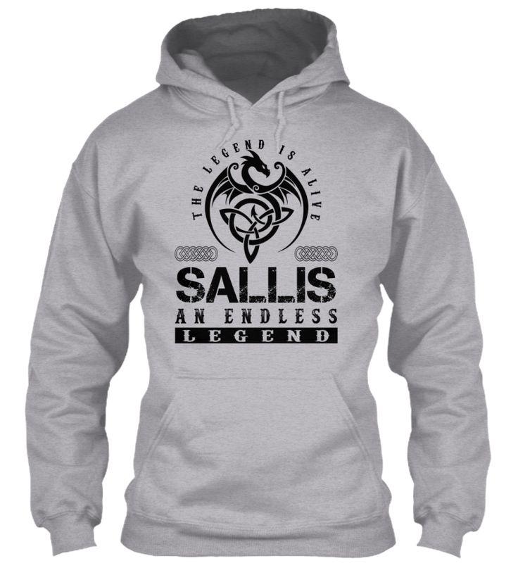 SALLIS - Legends Alive #Sallis
