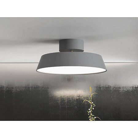 Nordlux LED Plafondlamp Alba - Grijs