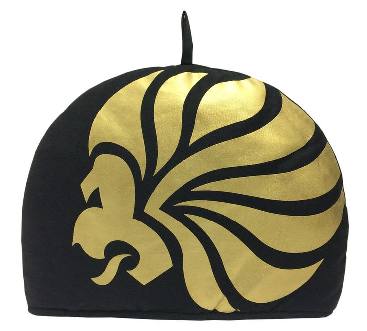 Black and Gold Team GB Olympic Lion Tea Cosy in Home, Furniture & DIY…