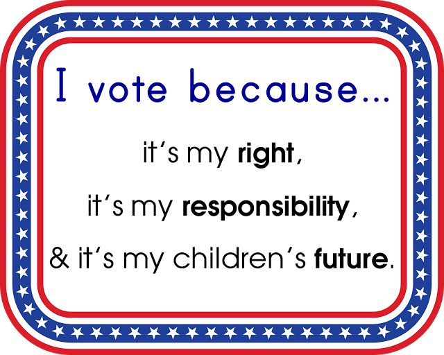 vote today | are you voting today i am because i believe in democracy and a ...