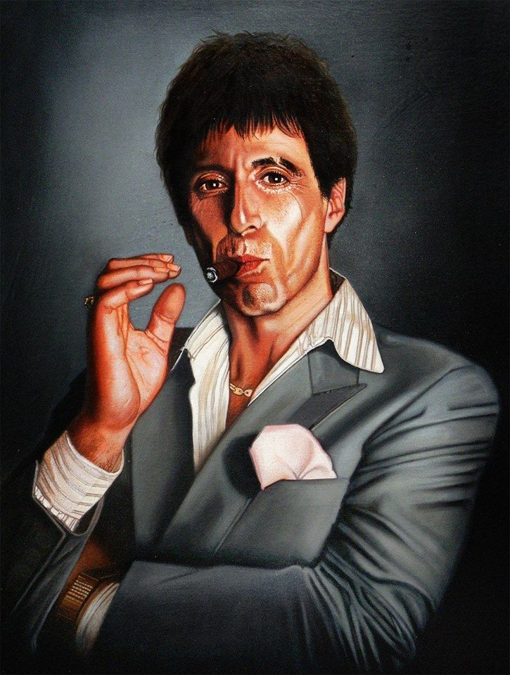 Antonio Tony Montana Christian Romani Follow Artist On Deviantart Instagram Facebook More Scarface Related Artworks Tony Montana Tony Scarface