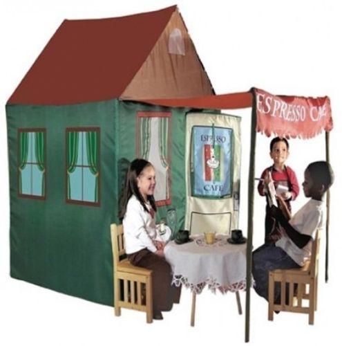 KidsPlayAdventure Cafe Kitchen Tent Kids Playhouse Indoor Imaginative Large