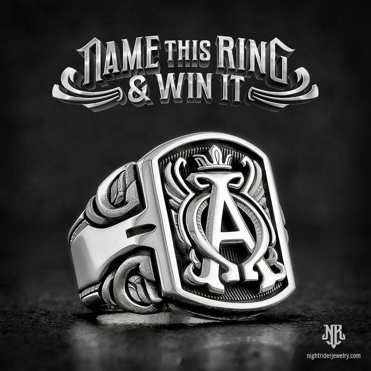 Name our new ring and you can WIN one of them!   To enter go to nightriderjewelry.com/contest for all the info!   You have until 6/26/17 to enter, so hurry!