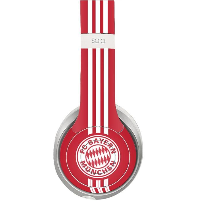 FC Bayern Munchen decal for Monster Beats Studio 2.0 wireless headphones
