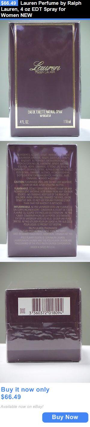 Women Fragrance: Lauren Perfume By Ralph Lauren, 4 Oz Edt Spray For Women New BUY IT NOW ONLY: $66.49
