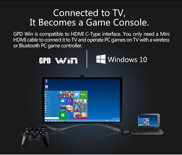 The World's First 5.5 Inch Handheld PC/Gaming Console Based on Windows 10 System. | Crowdfunding is a democratic way to support the fundraising needs of your community. Make a contribution today!
