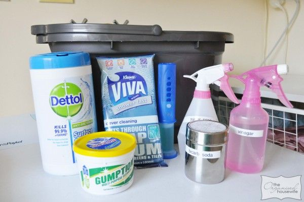 My Cleaning Kit - from The Organised Housewife