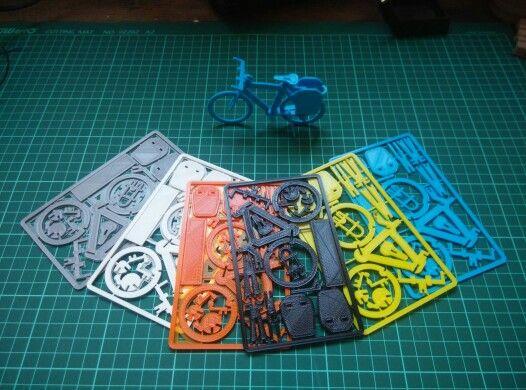Business card bike