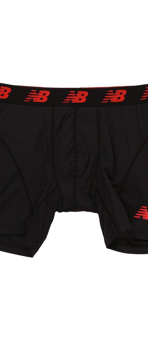 new balance underwear. new balance nb ice 6 boxer brief (black) men\u0027s underwear - balance,