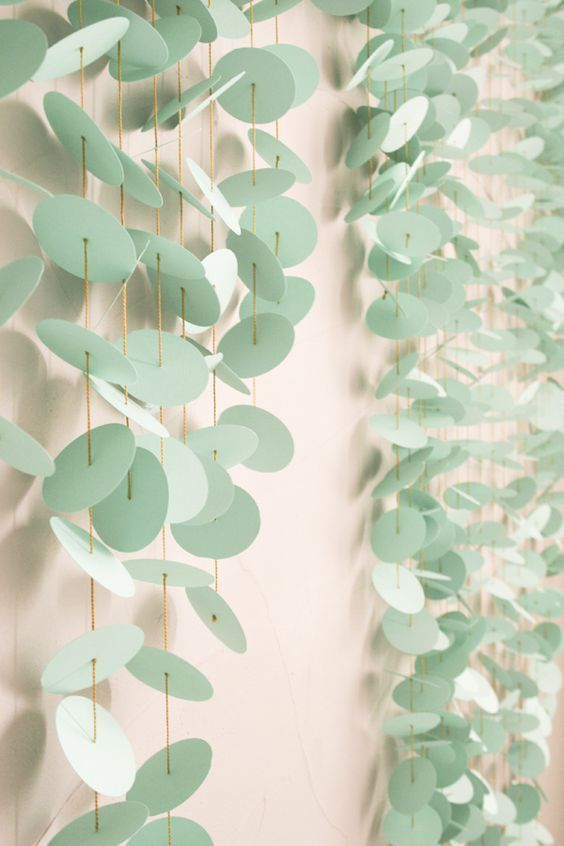 DIY Paper Punch Backdrop http://ruffledblog.com/diy-paper-punch-backdrop #diyprojects #weddingdiy: