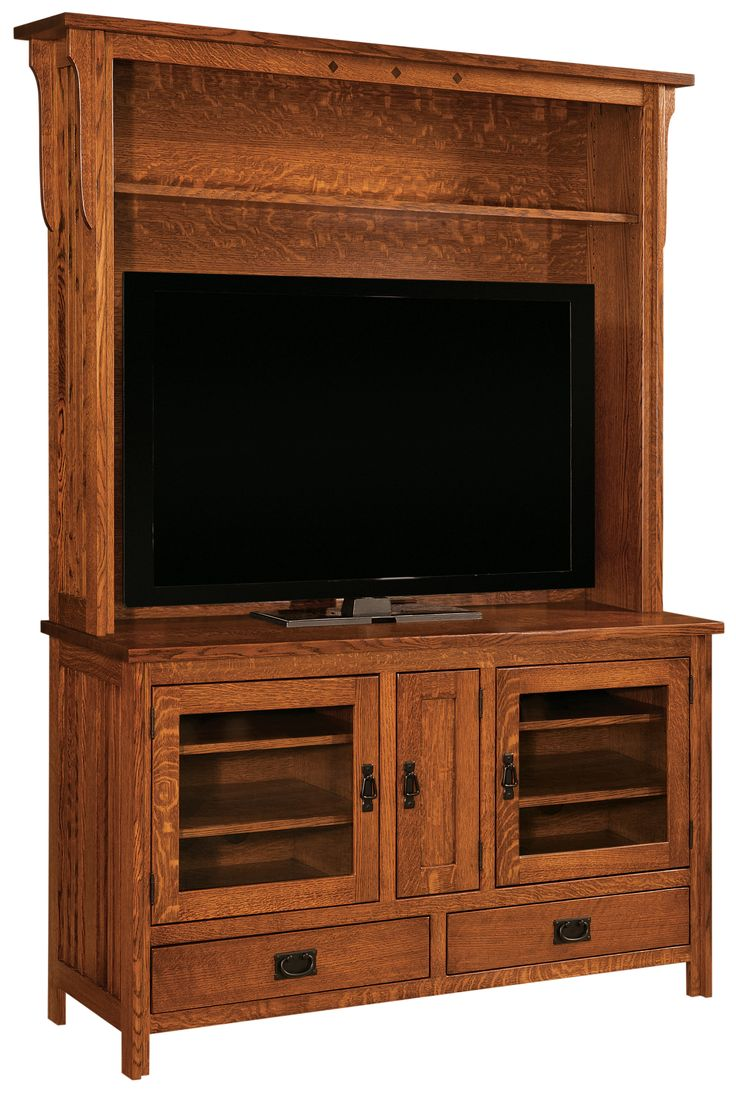 Muskoka alpine 62 in wide electric fireplace tv stand burnished - Our Royal Mission Hutch Tv Stand Features Beautiful Woodwork And Detailed Construction Come See Us In Shipsehwana In And See Our Entire Selection Of