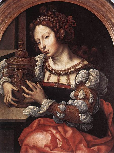 Jan Gossaert - Lady Portrayed as Mary Magdalene