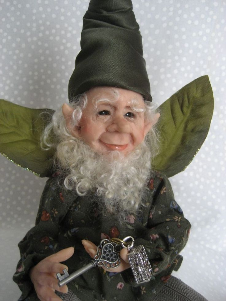 ~  SPRING FAIRY ~  Terry Richards One-of-a-Kind Art Doll **