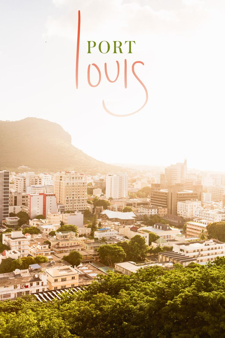 Port louis, the Mauritian capital at golden hour from the Fort Adelaide citadel where we watched the sunset. Read up on my tips of what do do in the city on my blog.