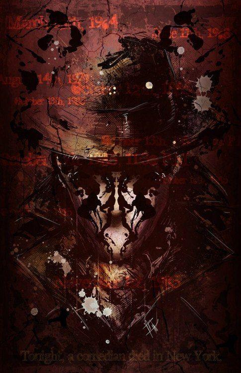 Interpretation of Rorschach (Watchmen Graphic Novel)