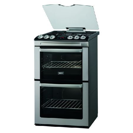 Zanussi ZCG552GXC 550mm Double Gas Cooker Gas Grill S/Steel http://www.MightGet.com/january-2017-13/zanussi-zcg552gxc.asp