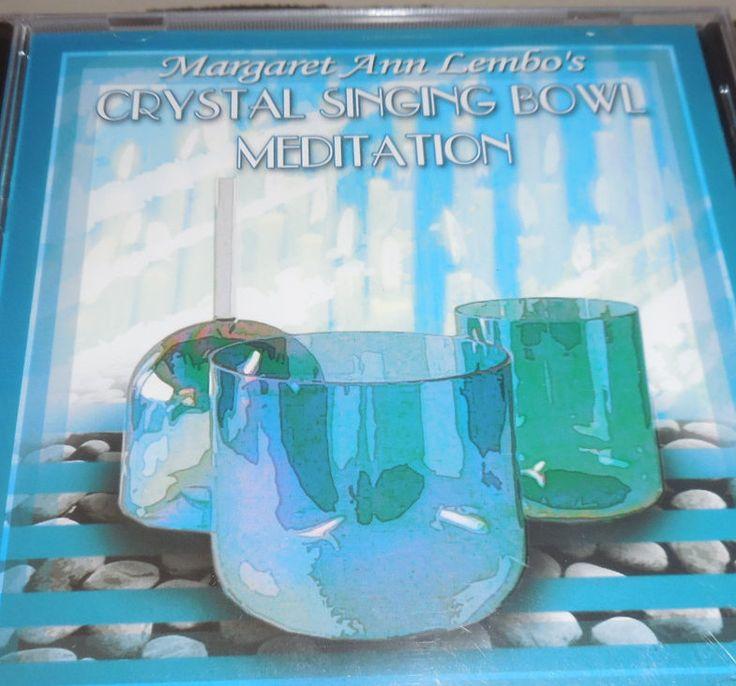 "CD for Tibetan singing Bowls, ""Crystal Singing Bowl Meditation"" , unopened brand new by ZephyrGemsandEtc on Etsy"