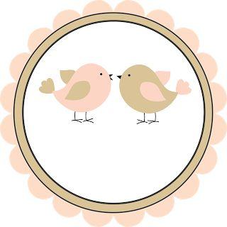 Logotipo grátis tema passarinhos