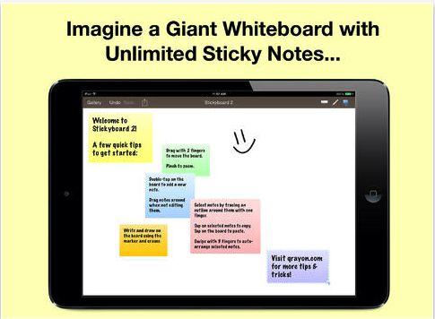 Stickyboard2- A Wonderful Sticky Note App (Free Today It was $9.99) Grab It