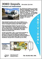kubus Impuls - in Kooperation mit JOKO Wohnmobil gefertigt