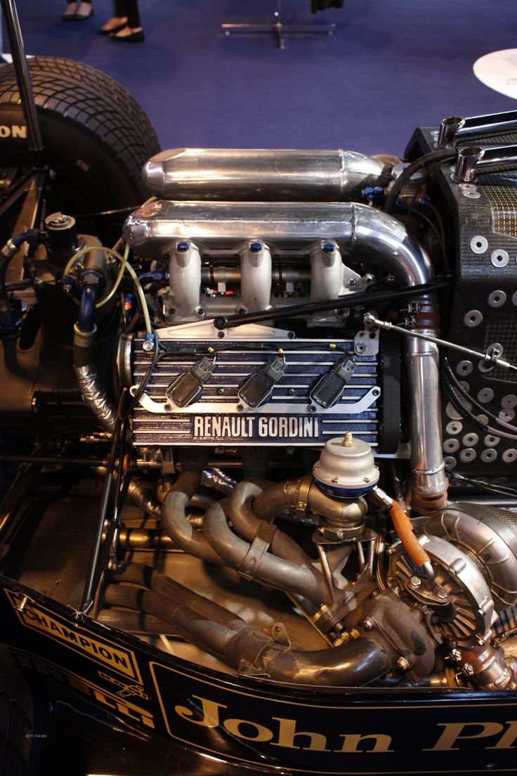 Renault 1.5L twin-turbo V-6 - Formula 1