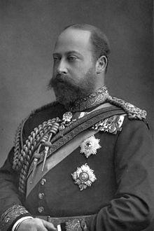 Eduard VII. král Spojené království Velké Británie a Irska