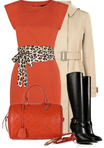 Skirt Outfits ... Louis Vuitton Monogram Empreinte Speedy Bag 25 M40758
