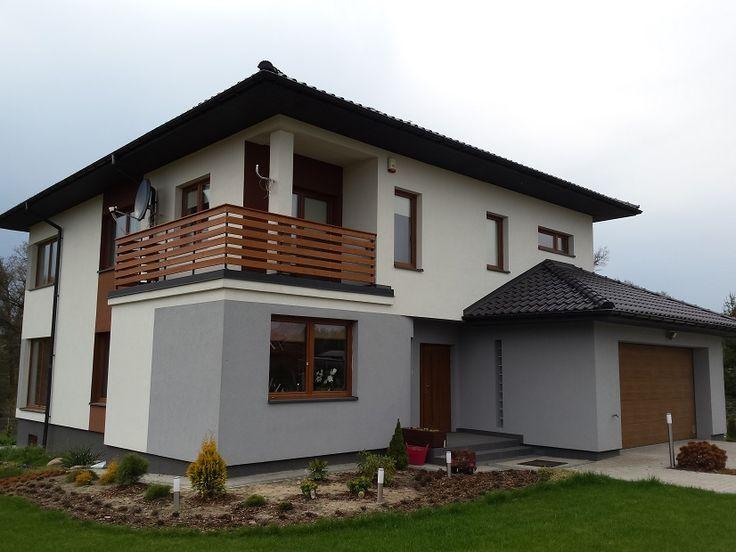 Wejście do budynku #dom #projekt #budowa
