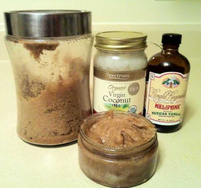 Make your own Warm Vanilla Brown Sugar & Coconut Body Scrub. This brown sugar scrub smells absolutely amazing! It's definitely the perfect treat for skin that's begging to be pampered. Not only is it a wonderful exfoliant, but thanks to the coconut oil included in this recipe, it's very moisturising for the skin as well.