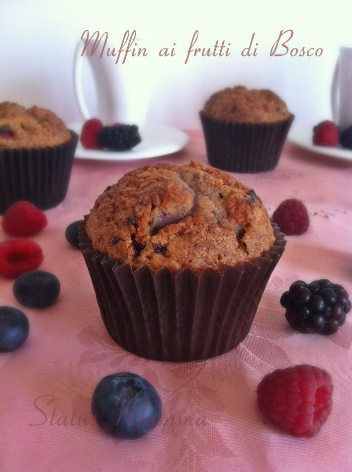 Muffins ai frutti di bsco ricetta cucinare dolce foto blog StatusMamma BlogGz Giallozafferanot tutorial