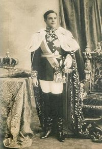 Manuel II (1889 - 1932). King of Portugal from 1908 to 1910, when the monarchy was abolished. He was married to Augusta Victoria of Hohenzollern-Sigmaringen, but had no children. He was last monarch of Portugal.