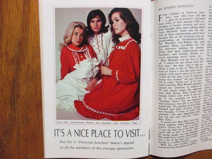 April-1966 TV Guide(PETTICOAT  JUNCTION/LORI SAUNDERS/GUNILLA HUTTON/LINDA  KAYE