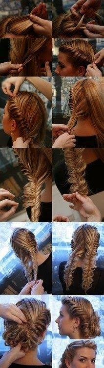 Interesting and Cute Hair Style