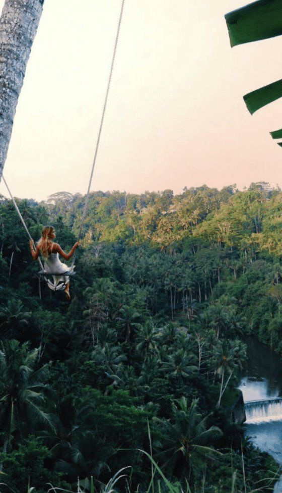 Probably the best swing in Bali. You have got to try this when you come to Ubud.