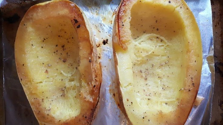 How to Roast Spaghetti Squash - Nutrition and Wellness for Life