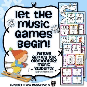 let the music games begin winter games for elementary. Black Bedroom Furniture Sets. Home Design Ideas