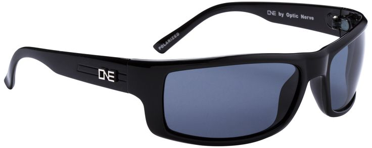 One by Optic Nerve Fourteener Sunglasses, Black
