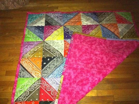 59 Best Bandana Quilts Images On Pinterest Bandana Quilt