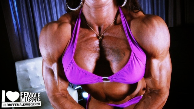 Carla Rossi is Ripped Videos on I Love Female Muscle!